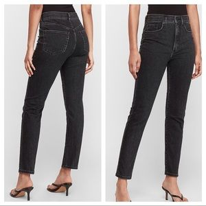 NWT Express Slim Ankle Super High Rise Jeans